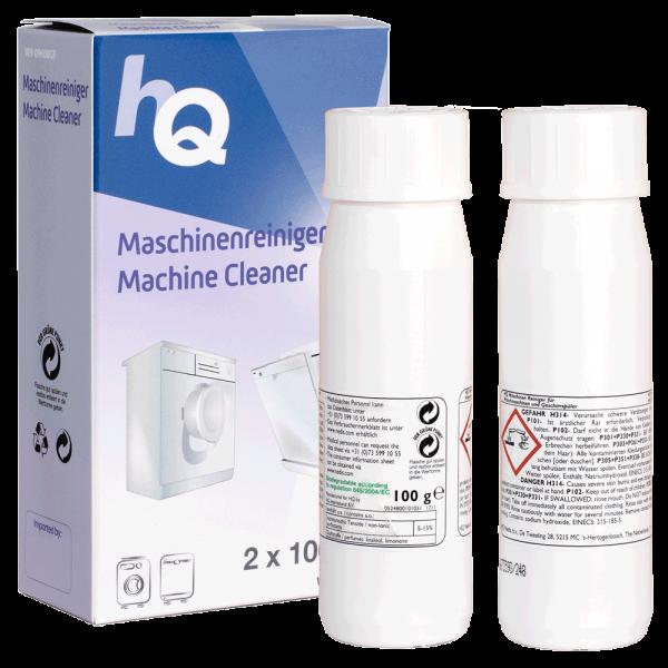 HQ Machinenreiniger für Geschirr- & Waschmaschine 2x 100g