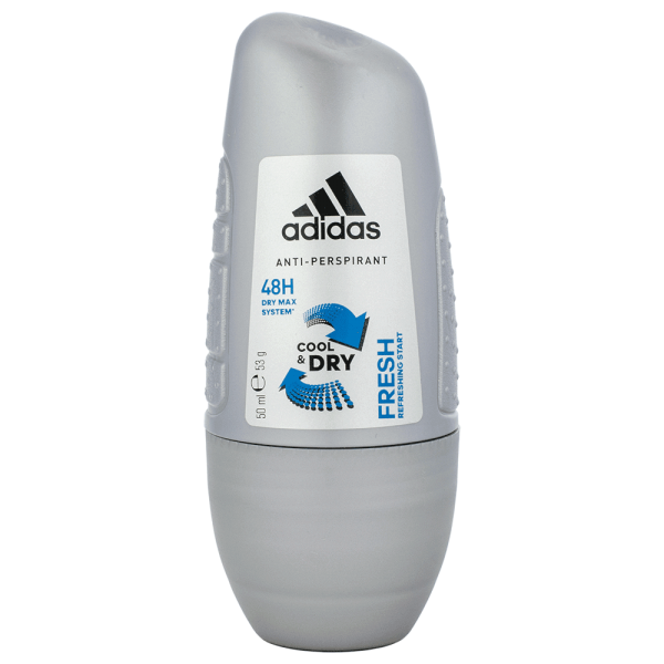 adidas for Men Fresh Cool & Dry Roll On 50ml