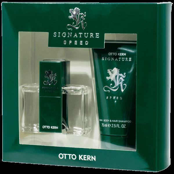 Otto Kern Signature Speed Geschenk-SET Body & Hair Shampoo 75ml + EdT 30ml