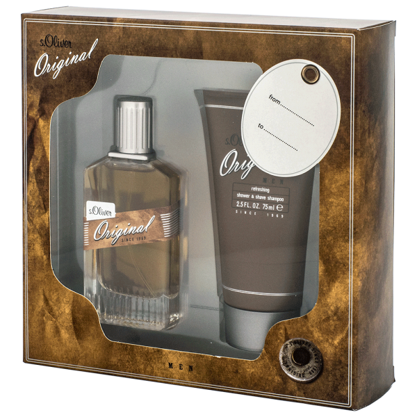 s.Oliver Oiginal Men SET Shower & Shaveshampoo + EdT