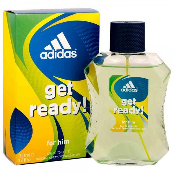 3x adidas get ready! for Him Eau de Toilette 100ml