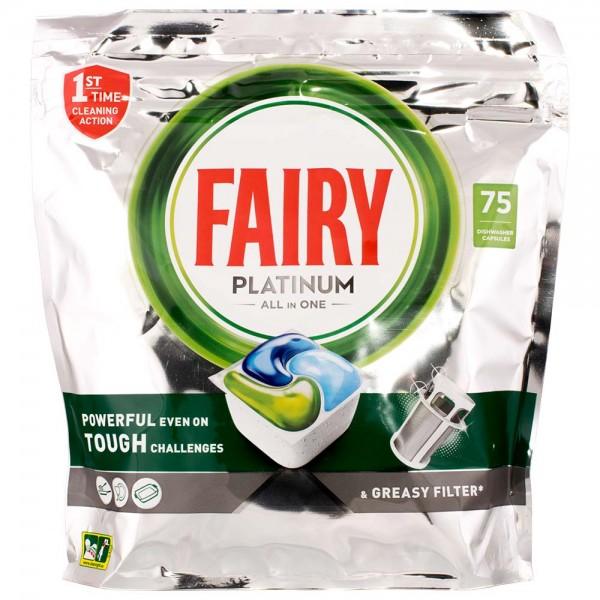 Fairy Platinum All in One Geschirrspültabs 75 Tabs