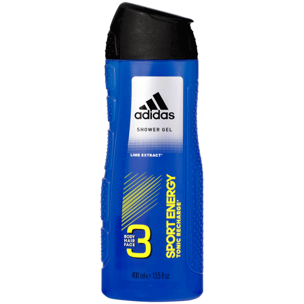 adidas Sport Energy Duschgel 3in1 400ml
