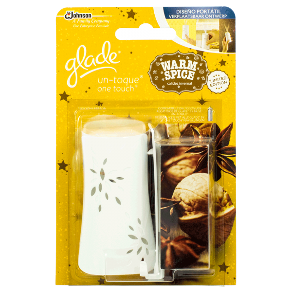 Glade by Brise - one touch Dufthalter - Warm & Spice 10ml