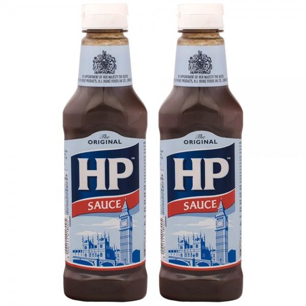2x HP Original Brown Sauce 425g importiert aus UK