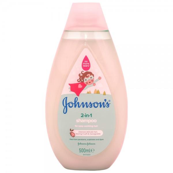 Johnson's Baby Shampoo 2-in-1 500ml