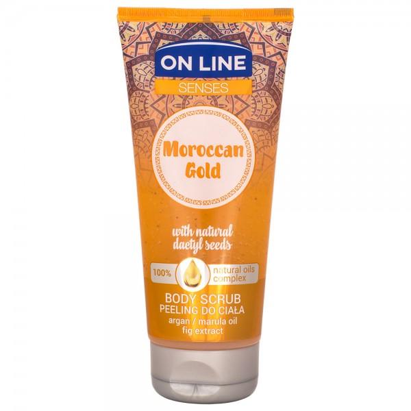 On Line Senses Moroccan Gold Body Scrub 200ml