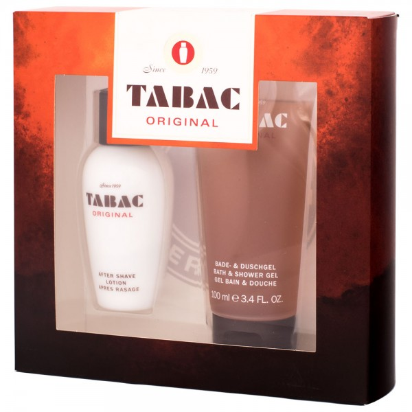 Tabac Original Geschenk-SET 50ml After Shave + 100ml Duschgel