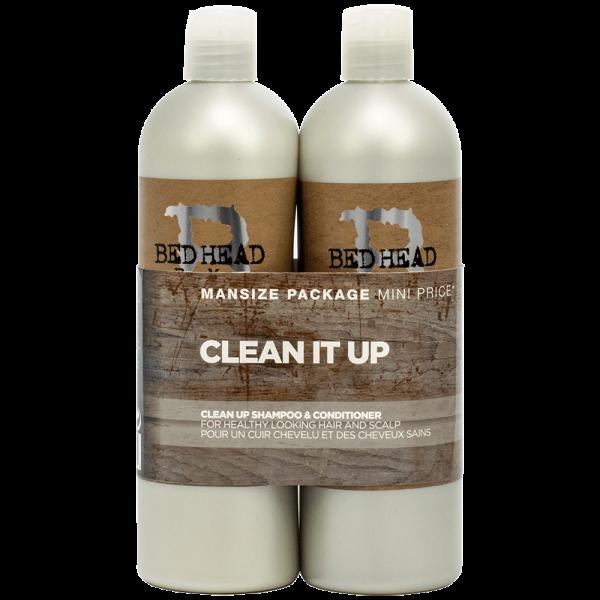 TIGI Bed Head For Men Clean Up Shampoo & Conditioner