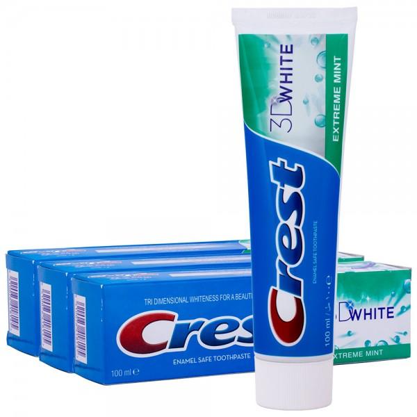 3x Crest 3D White Extreme Zahnpasta 100ml