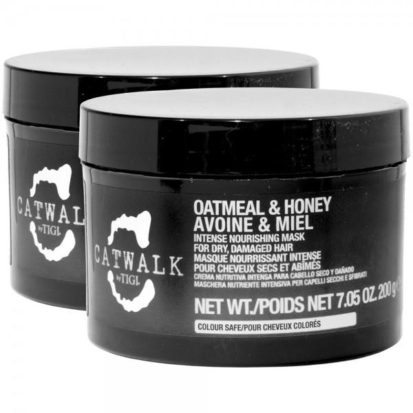 2x TIGI CATWALK Oatmeal & Honey Mask 200g