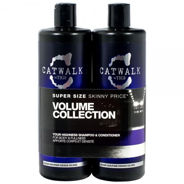 TIGI Catwalk Your Highness Shampoo & Conditioner 750ml