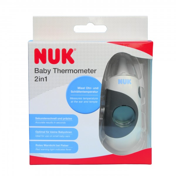 NUK Baby Thermometer 2in1